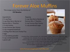 Forever Aloe Muffinshttp://team4dreams.flp.com/ https://shop.foreverliving.com/retail/entry/Shop.do?store=BEL&language=nl&distribID=310002029267