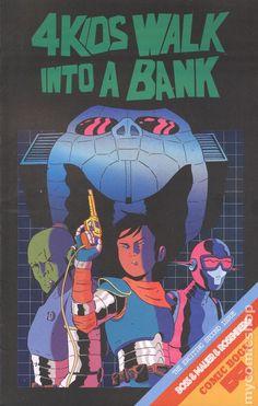 4 Kids Walk Into a Bank (2016 Black Mask) 2 Black Mask book covers Modern Age