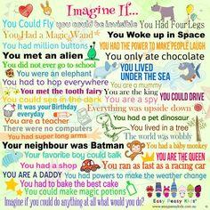 Imagine If... -- Printable Poster