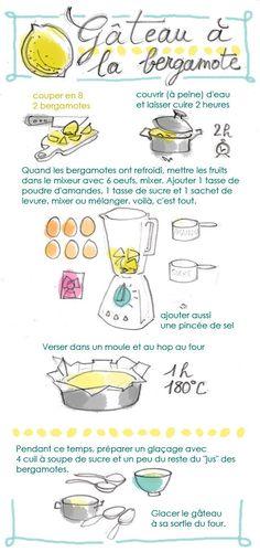 Tambouille» gâteau à la bergamote - à essayer aussi avec d'autres agrumes