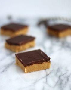 No Bake Peanut Butter Bars {just like Reese's!} - Rachel Cooks