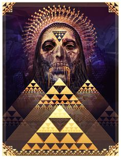 The Gift / Android Jones / Sacred Geometry <3