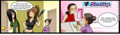 living with hipstergirl and gamergirl english - Google Search