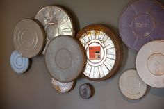 The Art of Upcycling   DIY wall art with old film canisters