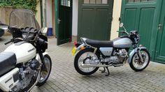 1980 Moto Guzzi 1000 SP and 1978 Moto Guzzi V50 II www.moto-officina.com