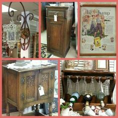Miscellaneous antique pieces