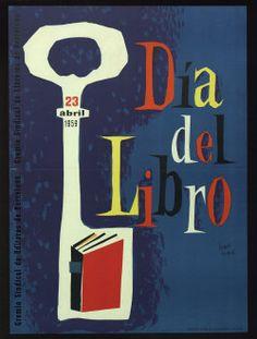 """""""Dia del libro : 23 abril 1959"""". Courtesy of the Biblioteca de Catalunya (www.bnc.cat). (Rights Reserved - Free Access) http://www.europeana.eu/portal/record/91906/1E67B49CC95ADE205301479BA4EF41FBB2CAD5A3.html"""