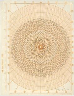 marsiouxpial:sun mathmatics, by agnes denes, c. 1974