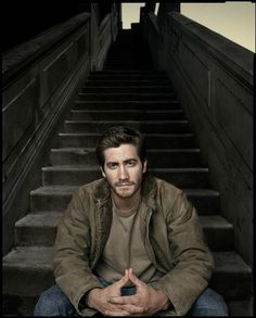 Jake Gyllenhaal by Dan Winters // great location
