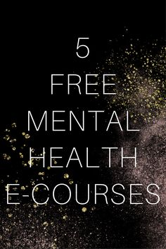 """I'm addicted to free e-courses online. I love having something useful to read sent to my email. Here are five free mental health e-courses you can try. I hope you like them.  6 Powerful Steps to Cure Depression About this Course """"Merri Ellen began a mission. When you almost go to the grave and..."""