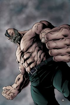 Bane Dark Knight Rises by mike-mcgee on DeviantArt Bane Dark Knight, The Dark Knight Trilogy, The Dark Knight Rises, Bane Batman, Im Batman, Dc Comics Art, Marvel Dc Comics, Scarecrow Batman, Batman Universe