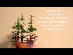 Painting Evergreen Trees in Watercolor - Michael David Sorensen
