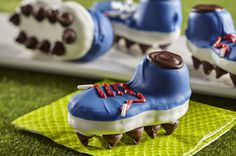 """Nutter Butter Cleats"" -- How clever, not to mention cute, these shoes are!"