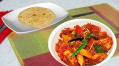 Kadai Paneer (Dhaba Style )Recipe Video - Indian Vegetarian Recipes by Bhavna