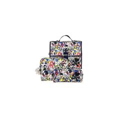 tokidoki Bellissima Makeup Bags Amica Hanging Travel Bag ($42) ❤ liked on Polyvore featuring beauty products, beauty accessories, bags & cases, makeup & travel bags, tools, cosmetic purse, tokidoki, make up bag, cosmetic bags and travel bag