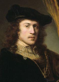Ferdinand Bol- Self portrait