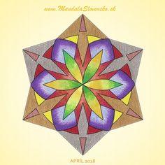 Apríl 2018. Afirmácia : Nehou srdca vytváram kľud v duši. #mandala #instamandala #mandalaslovensko #mandalaslovakia #sacredgeometry #handpaint #nothingelsebutlove #support #earth #healingart