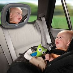 Stay connected with your #baby using our in sight mirror featured to fit in most vehicles.
