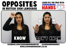BSL British Sign Language #signlanguagebasics