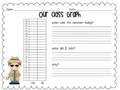 A day in first grade: Classroom Graphs
