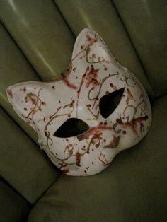 Kitty Splicer Mask by Gadzookery on Etsy, $35.00