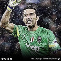Bramkarz i legenda Juventusu Turyn pobił rekord w Serie A • Gianluigi Buffon nie stracił gola przez 930 minut • Wejdź i zobacz >> #buffon #football #soccer #sports #pilkanozna