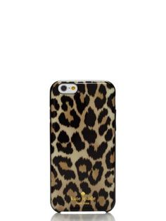 leopard ikat resin iphone 6 case - kate spade new york