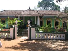 Goan house in Loutolim