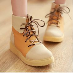 Spell color flat boots with thick soles - Find 150+ Top Online Shoe Stores via http://AmericasMall.com/categories/shoes.html