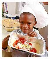 Kid's cooking party! Change the recipes to work for your venue - the activities and theme are fun anywhere!