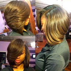 HAIRSPIRATION| Love this #bob✂️ done by #AtlantaStylist @HairByNicolbybri❤️ Sexy #VoiceOfHair