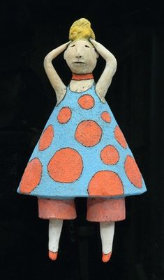 (send to Tama), what to do (with everyone else)  Sara Swink My Life in Clay - Mod Girl 2