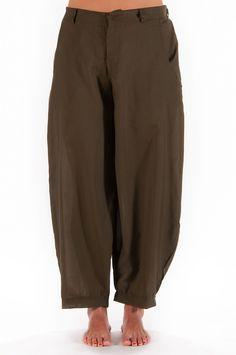 Ghungroo Pantalone in viscosa con tasche ed elastico – Ganesha Shop Online -