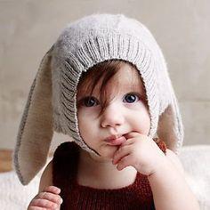 「赤ちゃん 帽子 耳あて かぎ針」の画像検索結果