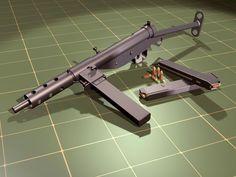 Оружие. Пистолет-пулемет Стен