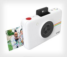 """Polaroid today announced its new 10-megapixel Polaroid Snap instant digital camera, which the brand calls """"the perfect blend of nostalgic Polaroid instant"""