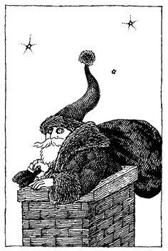 Edward Gorey Father Christmas