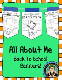 These All About Me banners are a great way to get to know your students during the start of a new term!  Have each student fill one out, and fill…
