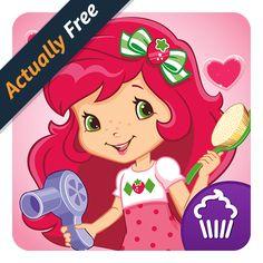 Strawberry Shortcake Jumbo Coloring Book From Amazon Berry Beauty Salon