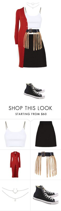"""""""juice"""" by leilaprins ❤ liked on Polyvore featuring Alexander Wang, Gucci, Maison Margiela, Chanel and Converse"""