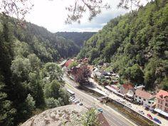 """The X1 took me to """"Hrensko"""" border point with Germany in the north of CZ / X1 mě zavezla první víkend do Hřenska, kde bylo krásně!!"""