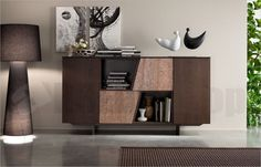 Madia Soggiorno Horizon 826 Madia soggiorno 826 Mobilgam, disponibile in varie finiture. Commercial Design, Chest Of Drawers, Decoration, Sideboard, Bookshelves, Floating Shelves, Cabinet, Living Room, Interior Design