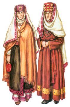 Balto-Slavica > Реконструкция одежды народов, живших не территории Украины