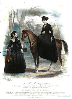 Riding Habit: Le Moniteur de la mode: 1853 - Google Books