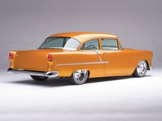 Brizios 1955 Chevrolet  - Rod and Custom Magazine...For the best in car care products, click here: http://johnbellblog.com