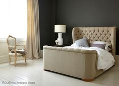 beds Products Rouen High foot-end from Sofas and Stuff