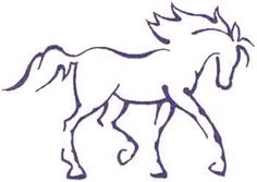 simple horse drawing - Bing Images