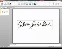 Create A Transparent Signature Stamp For Adobe Acrobat X