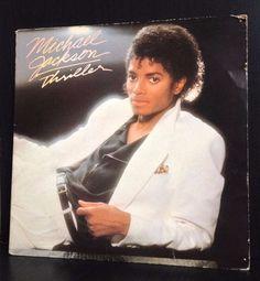 Michael Jackson Thriller Original Vinyl LP Album Record VG in Music, Records | eBay