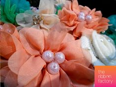 Handcrafted Hair Accessories by The Ribbon Factory https://www.facebook.com/pages/The-Ribbon-Factory/170898372998224